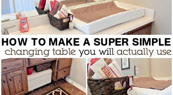 how to make a changing table you will actually use