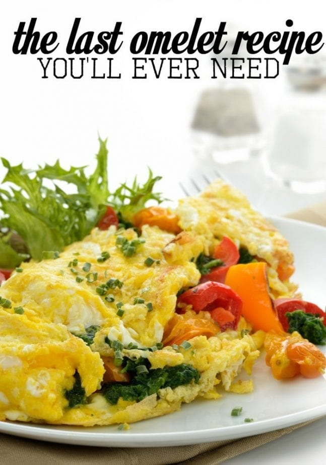 omelet recipe you will ever need