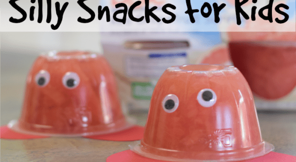 silly snacks for kids
