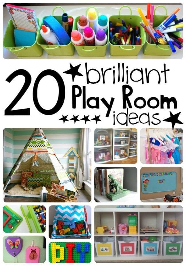 brilliant play room ideas