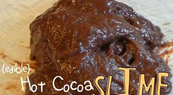 Hot Cocoa Slime Recipe feature