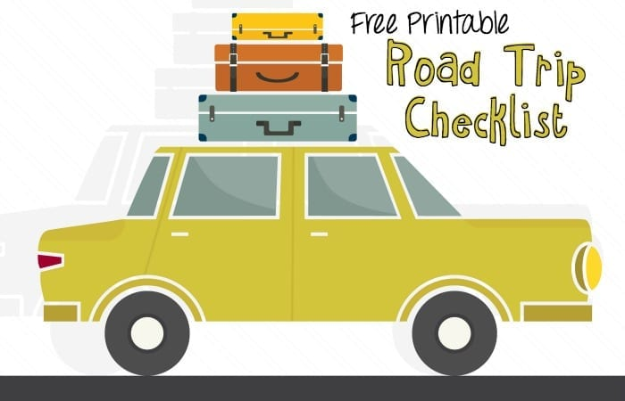 Long Drive Checklist printable feature