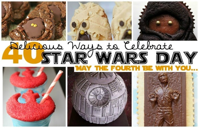 May the 4th Be with you desserts feature