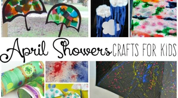 20 April Showers Crafts for Kids
