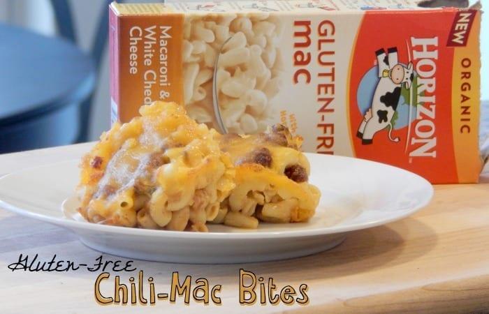 gluten free chili-mac bite snack