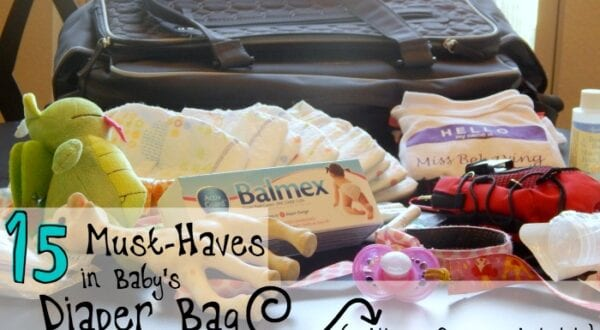 what do I need in my diaper bag
