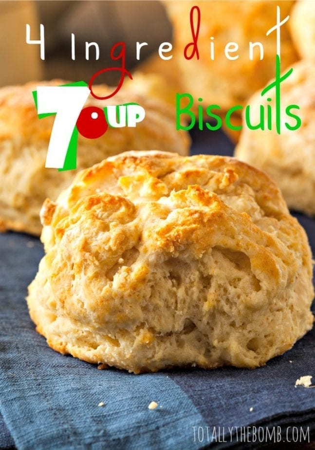 4 Ingredient 7up Biscuits