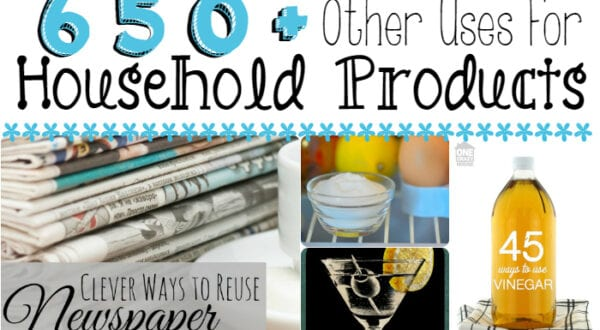 uses for household products