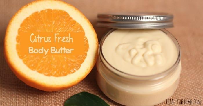 citrus fresh body butter