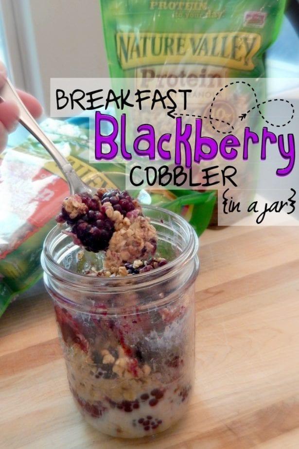 breakfast recipe with granola pin
