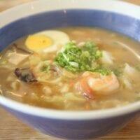 Spicy Shrimp Ramen Soup