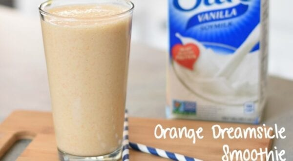 orange dreamsicle smoothie featured
