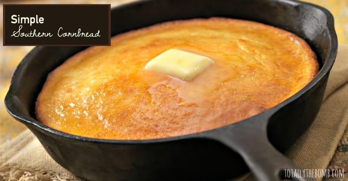 simple southern cornbread