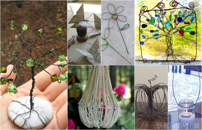 35 gorgeous diy wire crafts