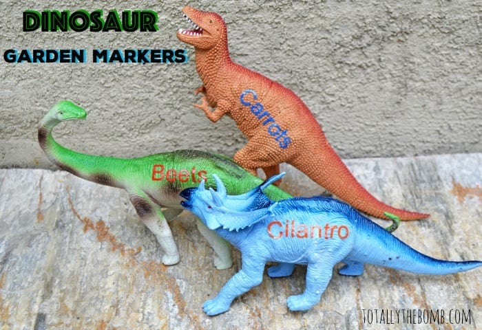 Dinosaur Garden Markers Featured