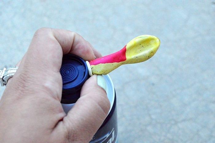 shaving cream balloons for kids inprocess2