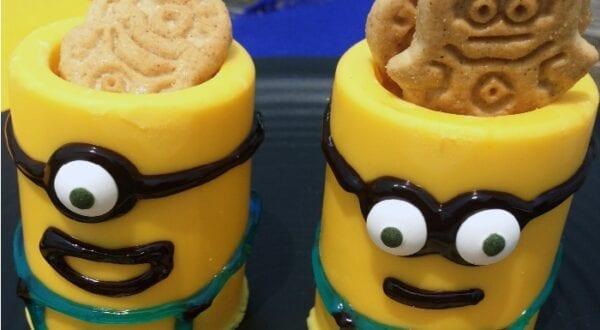 Minion Yellow Chocolate Cups