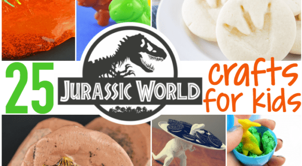 jurassic world crafts