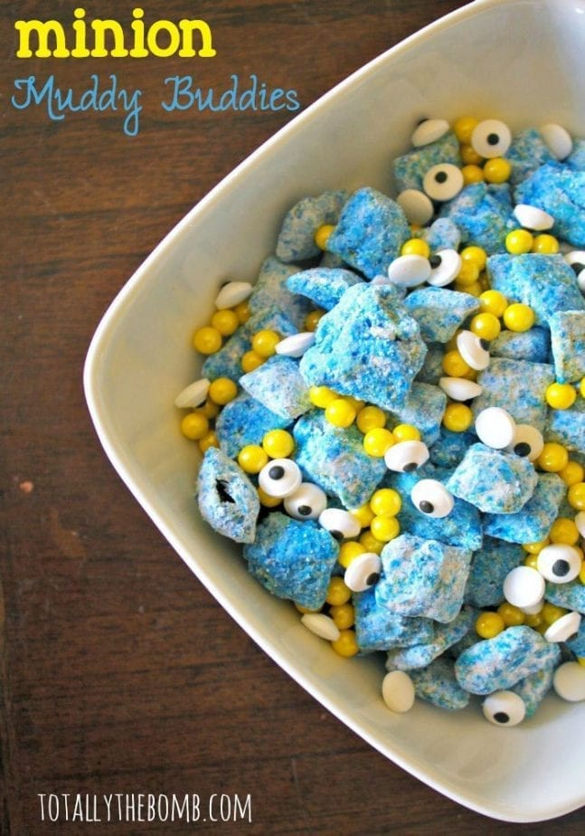 minion muddy buddies