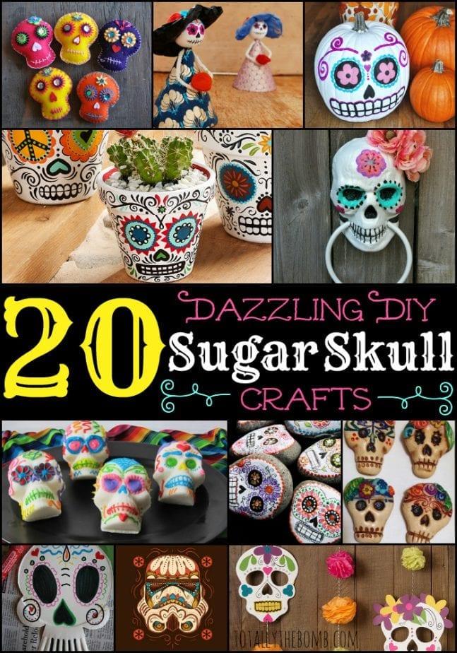 Dazzling DIY Sugar Skull Crafts