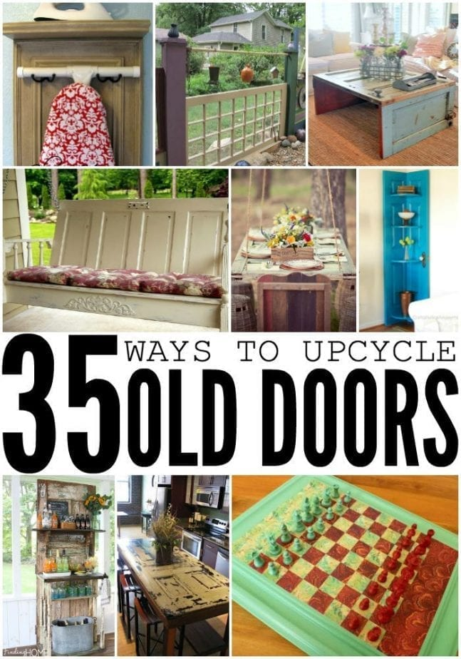 35 ways to upcycle old doors