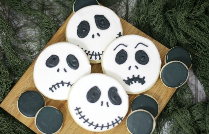 jack skellington cookies - Jack From Nightmare Before Christmas