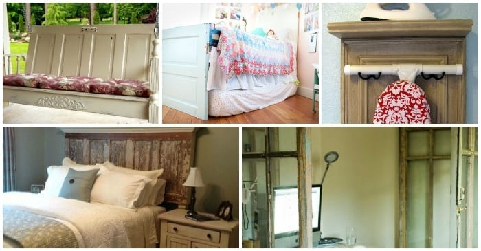 Ways to Upcycle Old Doors