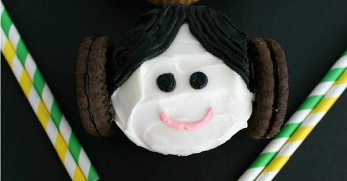 star wars princess leia cupcakes