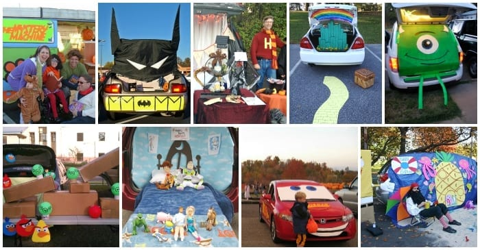trunk or treat ideas for halloween