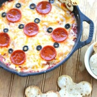 Mickey Mouse Pizza Dip