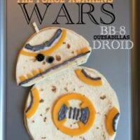 Star Wars BB-8 Droid Quesadillas