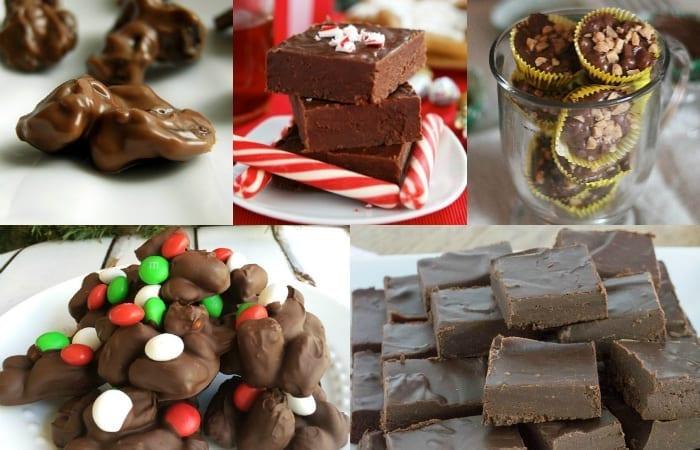 chocolate treats for Christmas
