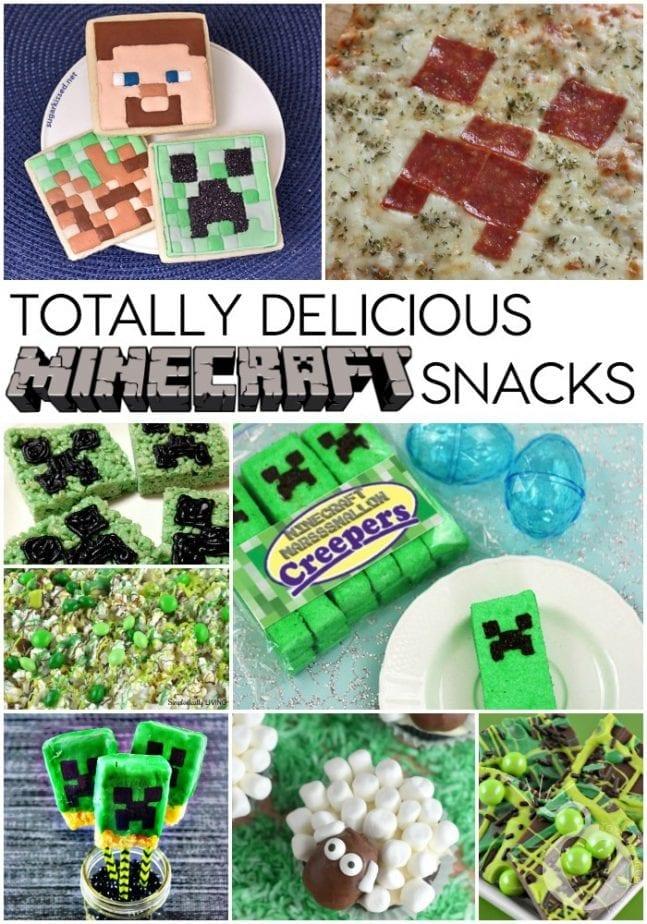 delicious minecraft snacks