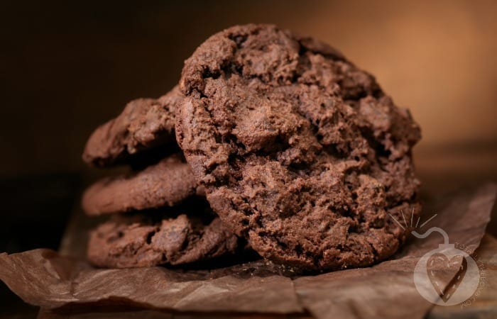 hot fudge cookies