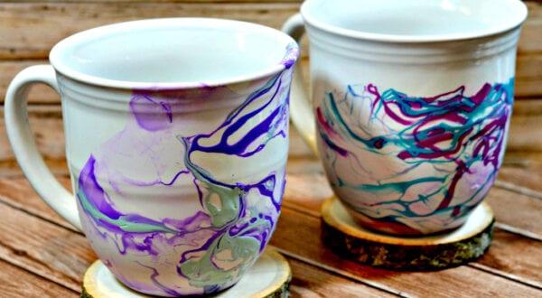 marble mugs