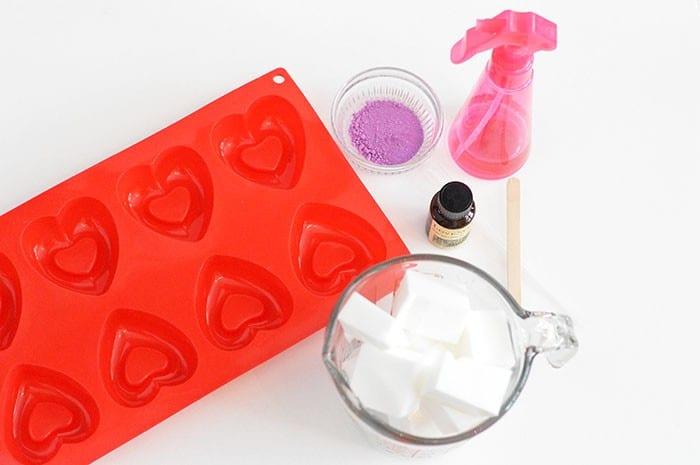 love spell soap supplies