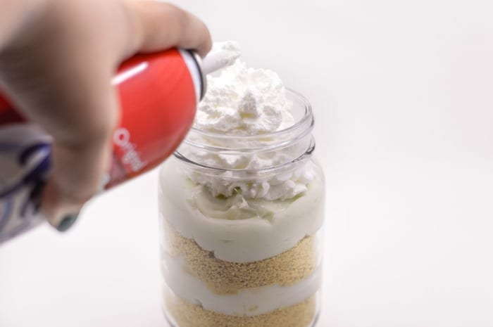 easy key lime pie in a jar step6