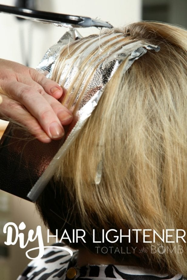 make your own hair lightener