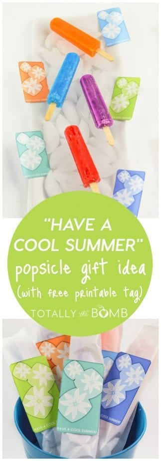 Have a COOL Summer Popsicle Gift
