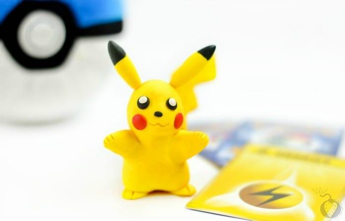 DIY Pikachu Clay Figure2