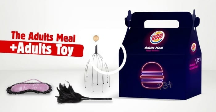 adult meal plus adult toy