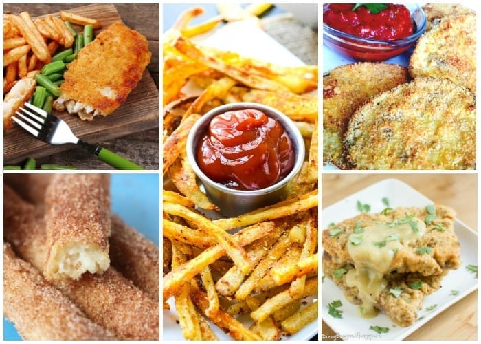 Now you can enjoy all that delicious fried food taste, without the actual unhealthy frying you grew up with. | #TotallyTheBomb #recipes #fried #baked #growingup #healthier #betterchoices #bakednotfried #comfortfood #nostalgia