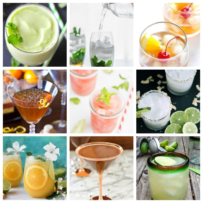 Cleaner Cocktails #cocktails #cleaneating #healthycocktails #happyhour #cleancocktails #cleanercocktails