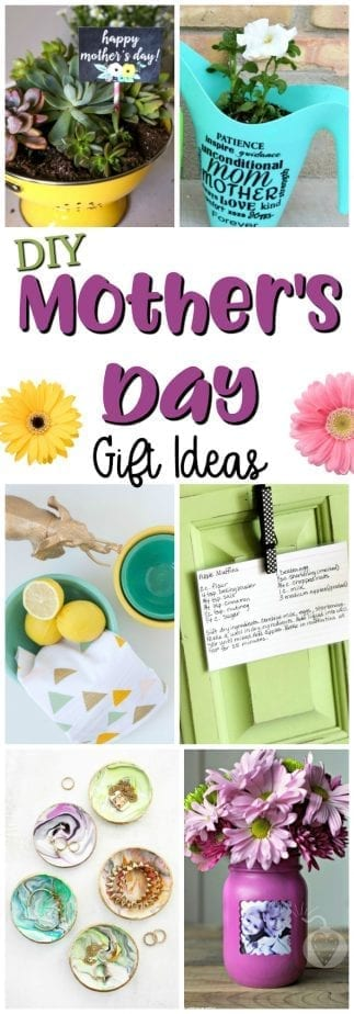 25 DIY Mother's Day Gift Ideas #DIY #DIYMothersDay #MothersDay #DIYgiftideas
