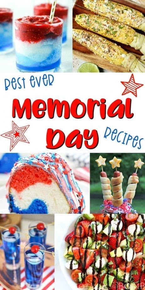 Best Ever Memorial Day Recipes   #memorialday #memorialdayrecipes #recipes #bbq