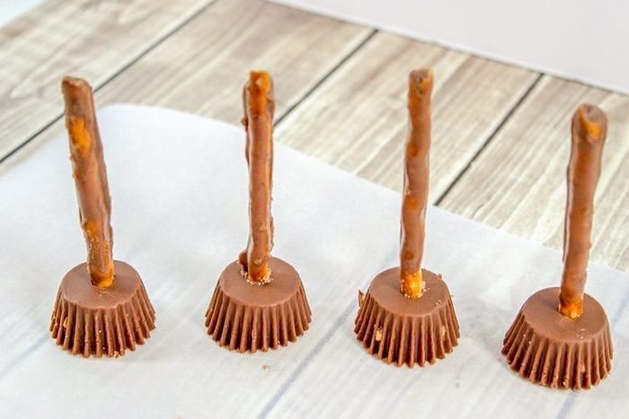 pretzel reese's brooms