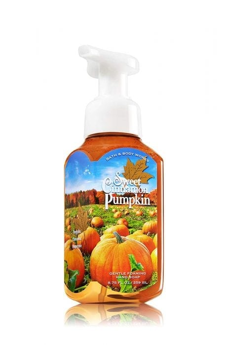bath and body works pumpkin spice hand soap