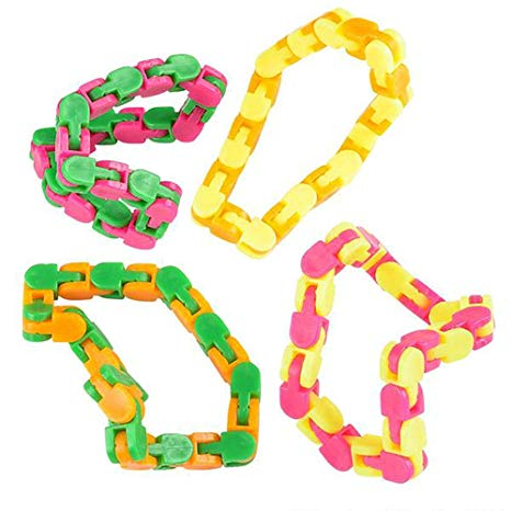 Snap and Click Puzzle Bracelets