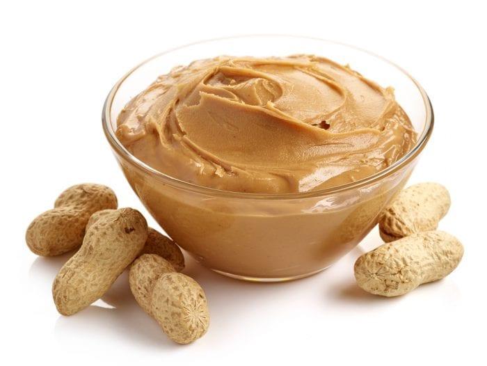 measuring peanut butter