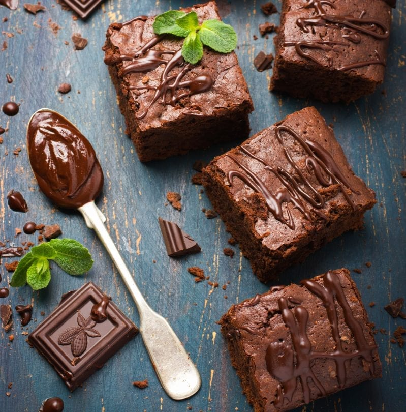 Oh, these Savory Brownies are SO Worth Diving into. They're decadently sweet and so very dark. I have to have more. #brownies #brownierecipe #brownie #howtomakebrownies